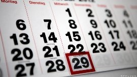 Високосные года: список, календарь